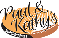 Paul & Kathy's Supermarket - logo